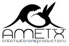 Logo AMETX negro