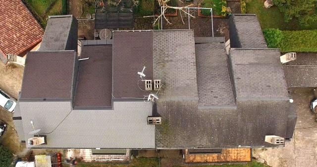 Inspección de tejados mediante drones